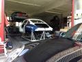 Porsche 911 2.0l S auf Rollbockwagen