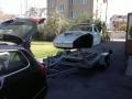 Porsche 911 2.0l S bei Ankunft Werkstatt