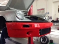 Porsche 911 mit Frontölkühler