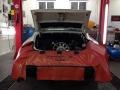 Porsche 911 RS Motor nach Einbau
