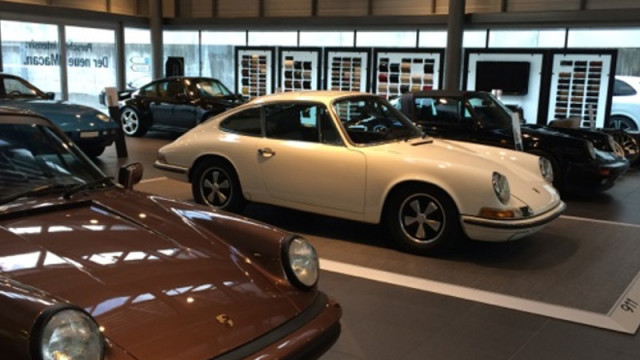Bilder Classic Week 1.-5. Sept. 2014 Porsche Zentrum St.Gallen