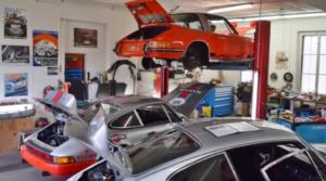 911 RS – alte 11er Garage