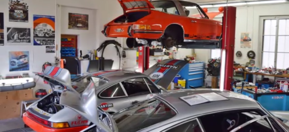 911 RS – alte 11er Garage