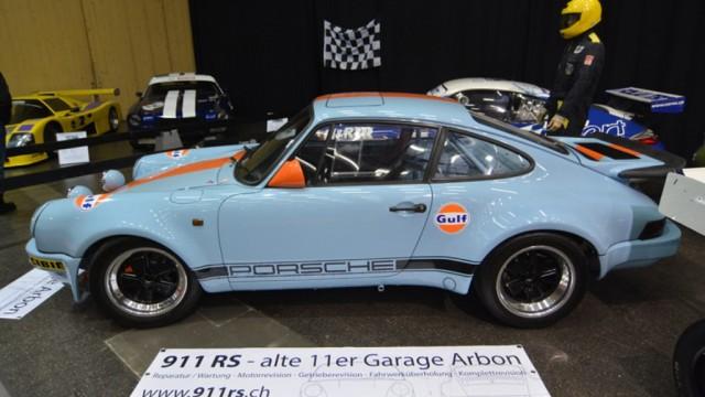 Bilder Rennwagenausstellung St.Gallen